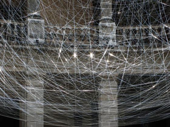 999. Luciano Matus, El nido. Installation view at La Triennale di Milano, 2018