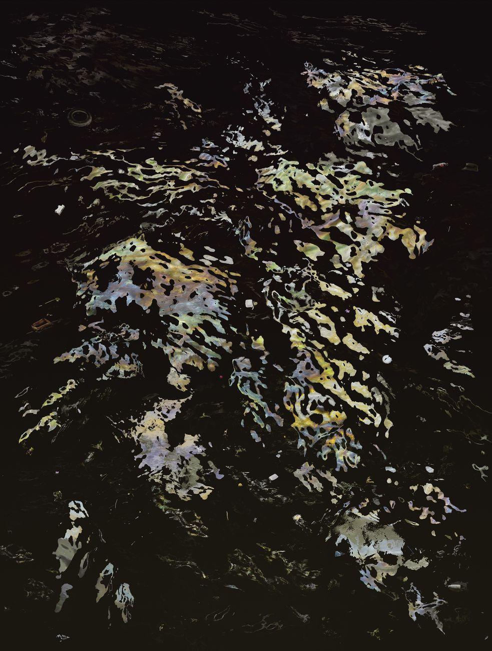 Andreas Gursky, Bangkok II, 2011, Stampa a getto d'inchiostro 307 x 237 x 6.4 cm (con cornice)