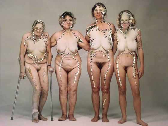 Annegret Soltau, Generative (series). Myself with Daughter, Mother and Grandmother. Cortesy of the artist