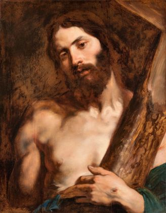 Anton van Dyck, Cristo con la croce, 1619. Genova, Musei di Strada Nuova - Palazzo Rosso