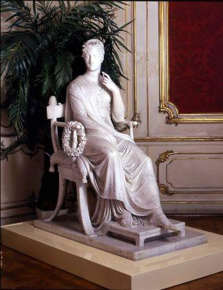 Antonio Canova, La musa Polimnia, 1812 17. Vienna, Bundesmobilienverwaltung, Hofburg, Kai serappartements. Photo credit Tina King