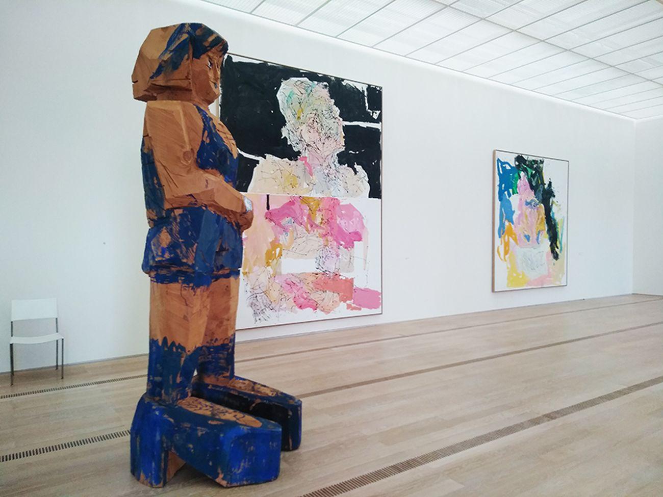 Baselitz. Exhibition view at Fondation Beyeler, Riehen 2018. Photo Daniele Perra