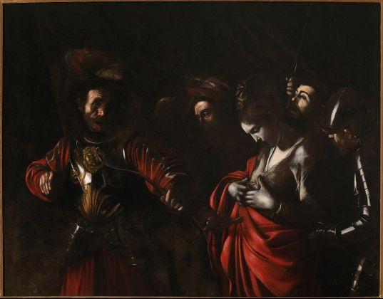 Caravaggio, Martirio di sant'Orsola, 1610. Collezione Intesa Sanpaolo. Gallerie d'Italia – Palazzo Zevallos Stigliano