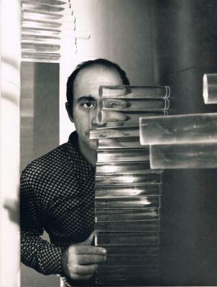 """Carlo Alfano e """"Tempi di un percorso circolare"""", 1968. Foto © Archivio Mimmo Jodice"""