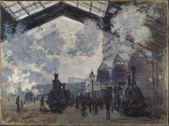 Claude Monet, La Gare Saint Lazare, 1877