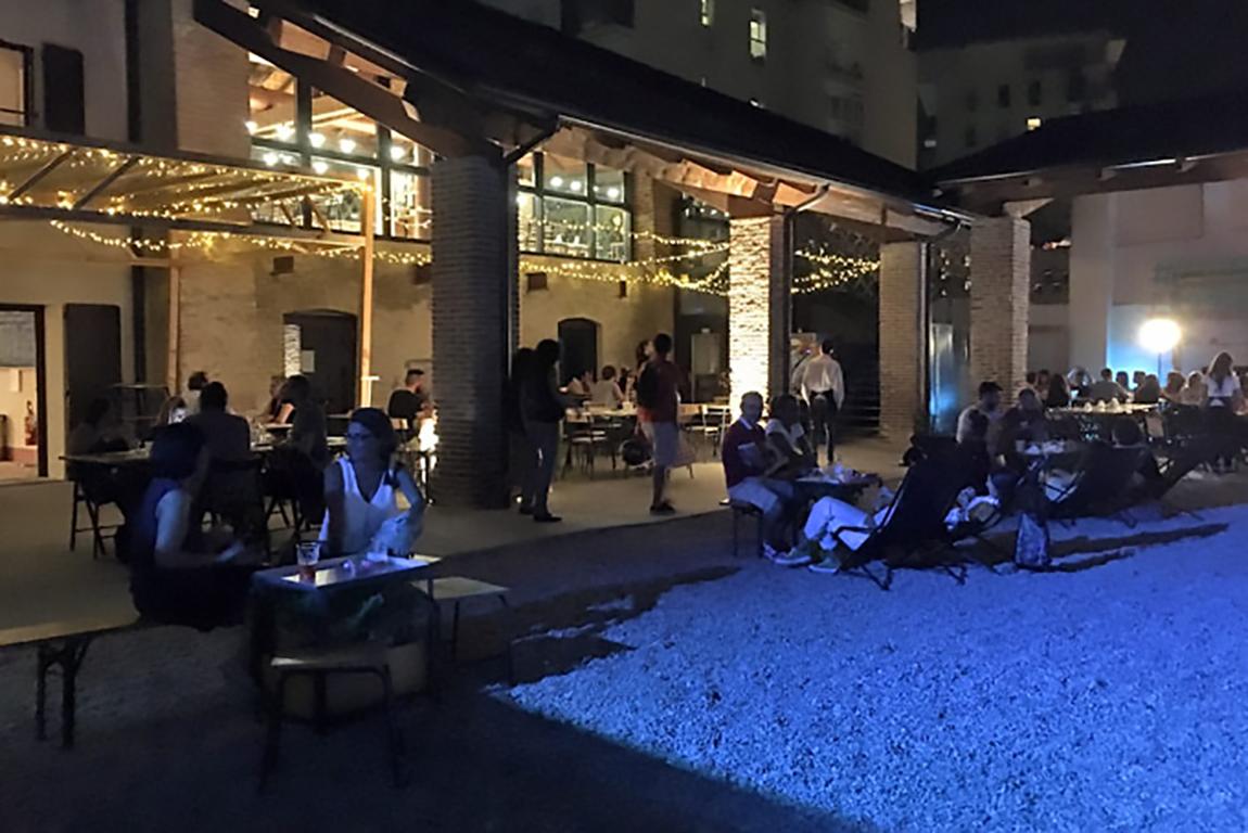 Cortile notte - Mare Culturale Urbano