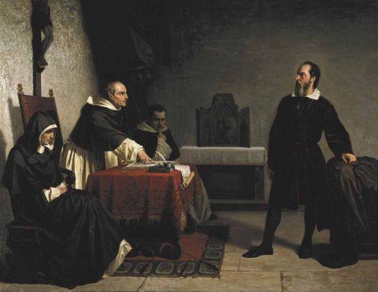 Cristiano Banti, Galileo davanti all'Inquisizione, 1857. Carpi, Collezione privata
