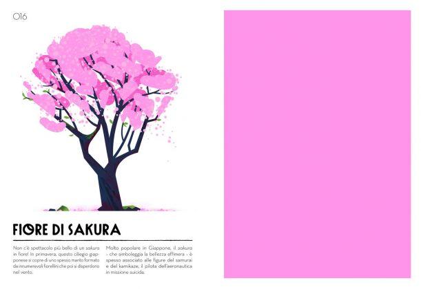 Cruschiform – Colorama. Il mio campionario cromatico (L'ippocampo, Milano 2017). Fiore di sakura