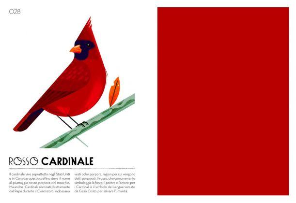 Cruschiform – Colorama. Il mio campionario cromatico (L'ippocampo, Milano 2017). Rosso cardinale