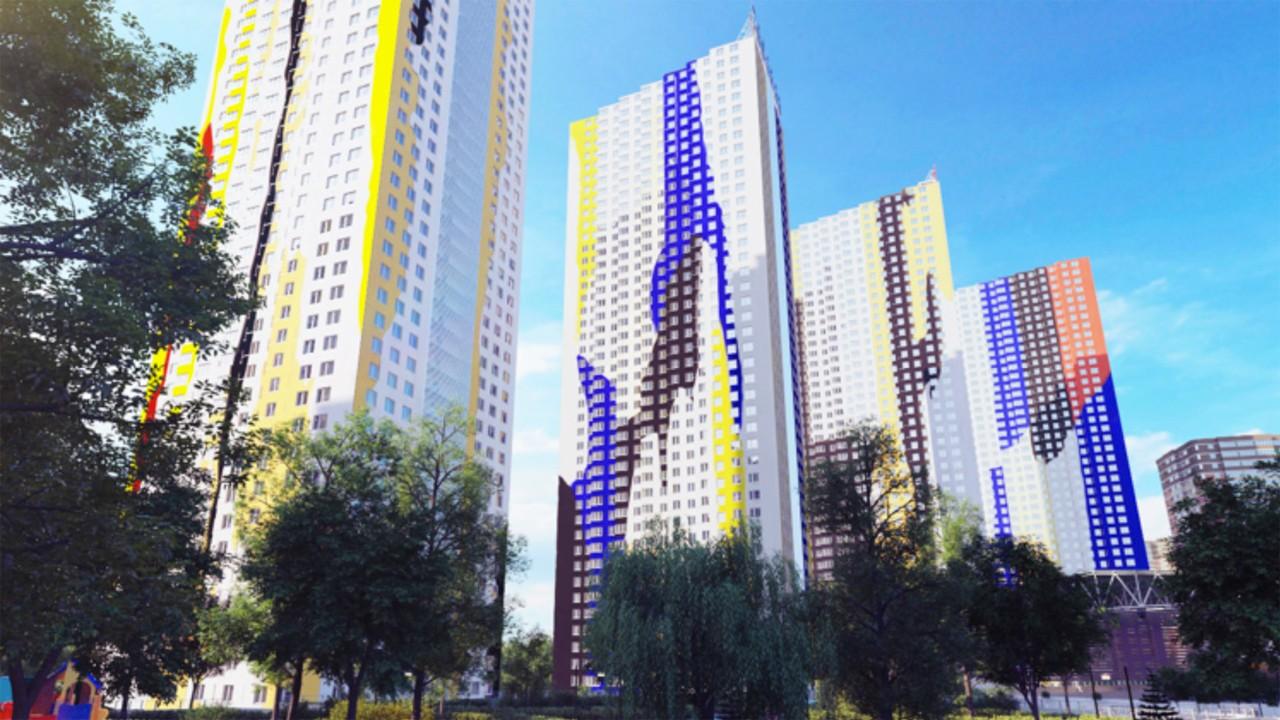 Dante O. Benini & Partners Architects con Mario Arlati, Pavshino Living Art Towers, Mosca, 2014