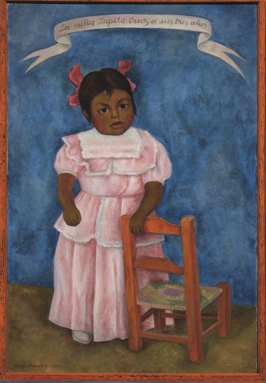 David Alfaro Siqueiros, Caín en los estados unidos, 1947, Piroxilina su legno compresso, Museo de Arte Carrillo Gil