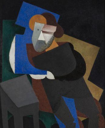 Diego Rivera, Retrato de Maximiliano Volonchine, 1916, olio su tela, Museo de Arte Carrillo Gil