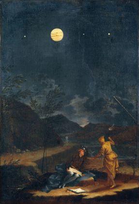 Donato Creti, Osservazioni Astronomiche. Giove, 1711. Musei Vaticani