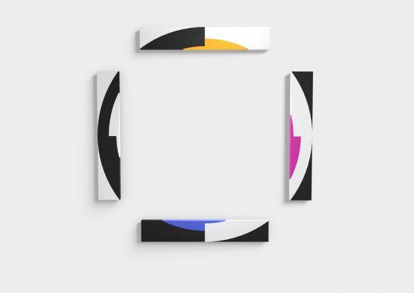 ESH Gallery, Giovanna Strada_SpazioLatente16_2017_acrilico su tela applicata su legno, Affordable Art Fair 2018 Milano