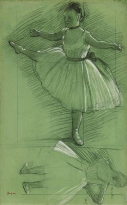 Edgar Degas Two Studies of Dancers, ca. 1873 ©J. Paul Getty Trust