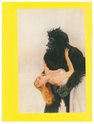 Eduardo Paolozzi, Vogue Gorilla with Miss Harper, Blatt 18 der Edition Bunk!, 1972