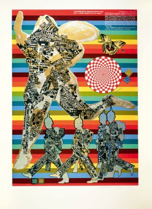 Eduardo Paolozzi, Wittgenstein as a Soldier, aus der Serie As is When, 1965