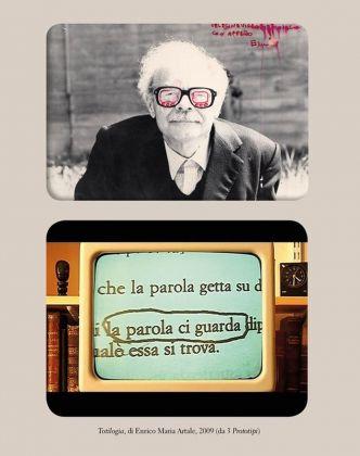 Enrico Maria Artale, Totilogia, 2009. Da Gianni Toti o della poetronica (ETS, Pisa 2012)