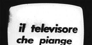 Fabio Mauri, Il televisore che piange, 1972. Happening, RAI TV2. Courtesy the Estate of Fabio Mauri and Hauser&Wirth