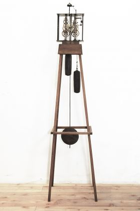 Fabio Mauri, Senza tempo, 1995. Courtesy the Estate of Fabio Mauri and Hauser&Wirth