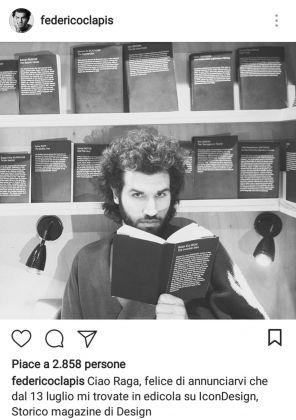 Federico Clapis su Instagram