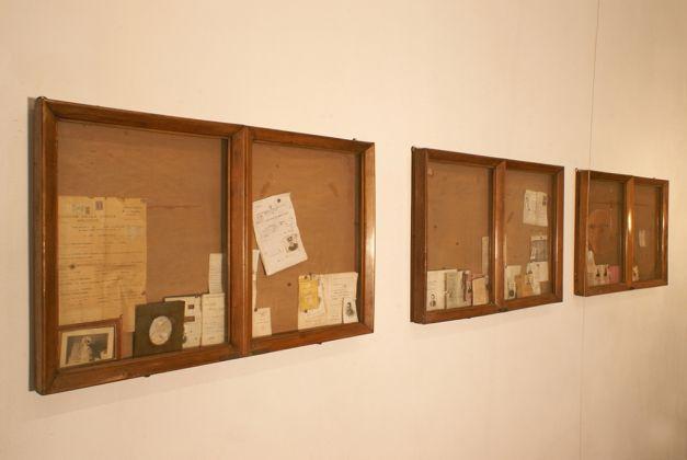 Federico De Leonardis, Autoritratto nello specchio convesso, 1982. Courtesy l'artista e Galleria Michela Rizzo