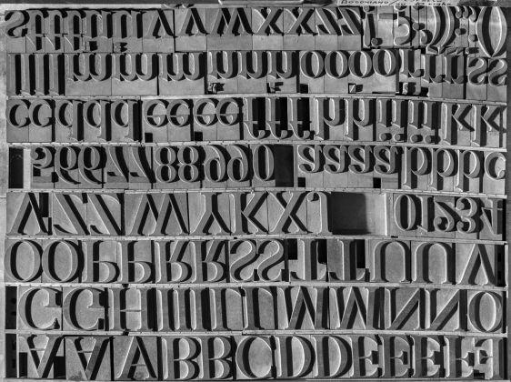 Ferdinando Scianna, Un fotografo in tipografia, 2017