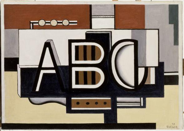 Fernand Léger, Nature Morte, A.B.C., 1927, Musée national Fernand Léger, Biot © Photo RMN-Grand Palais (Musée Fernand Léger)Gérard Blot © Adagp, Paris 2017
