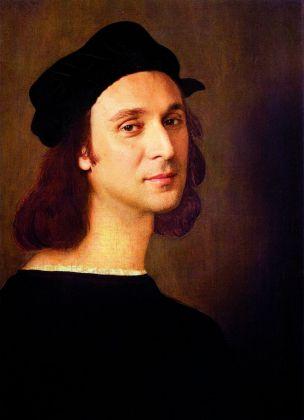 Francesco Vezzoli, Self Portrait as a Self Portrait (After Raffaello Sanzio), 2013. Courtesy l'artista. Photo Alessandro Ciampi