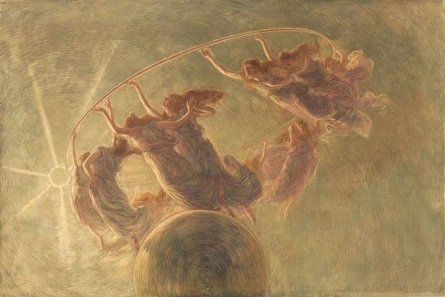 Gaetano Previati, La danza delle Ore, 1899 ca. Milano, Fondazione Cariplo