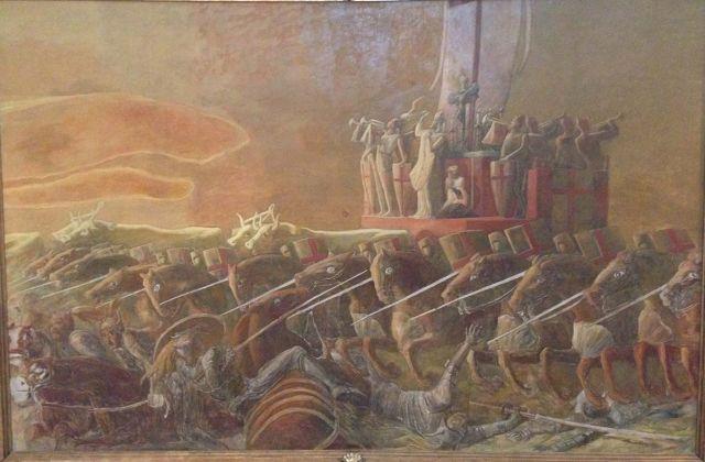 Gaetano Previati, dal trittico della Battaglia di Legnano, Castello visconteo