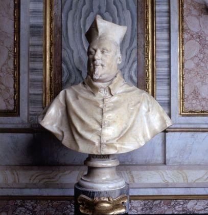 Gian Lorenzo Bernini, Busto del Cardinale Scipione Borghese, 1632. Galleria Borghese, Roma (c) Ministero dei Beni e delle Attività Culturali e del Turismo - Galleria Borghese