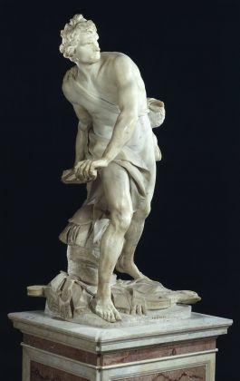 Gian Lorenzo Bernini, David, 1623-24. Galleria Borghese, Roma (c) Ministero dei Beni e delle Attività Culturali e del Turismo - Galleria Borghese
