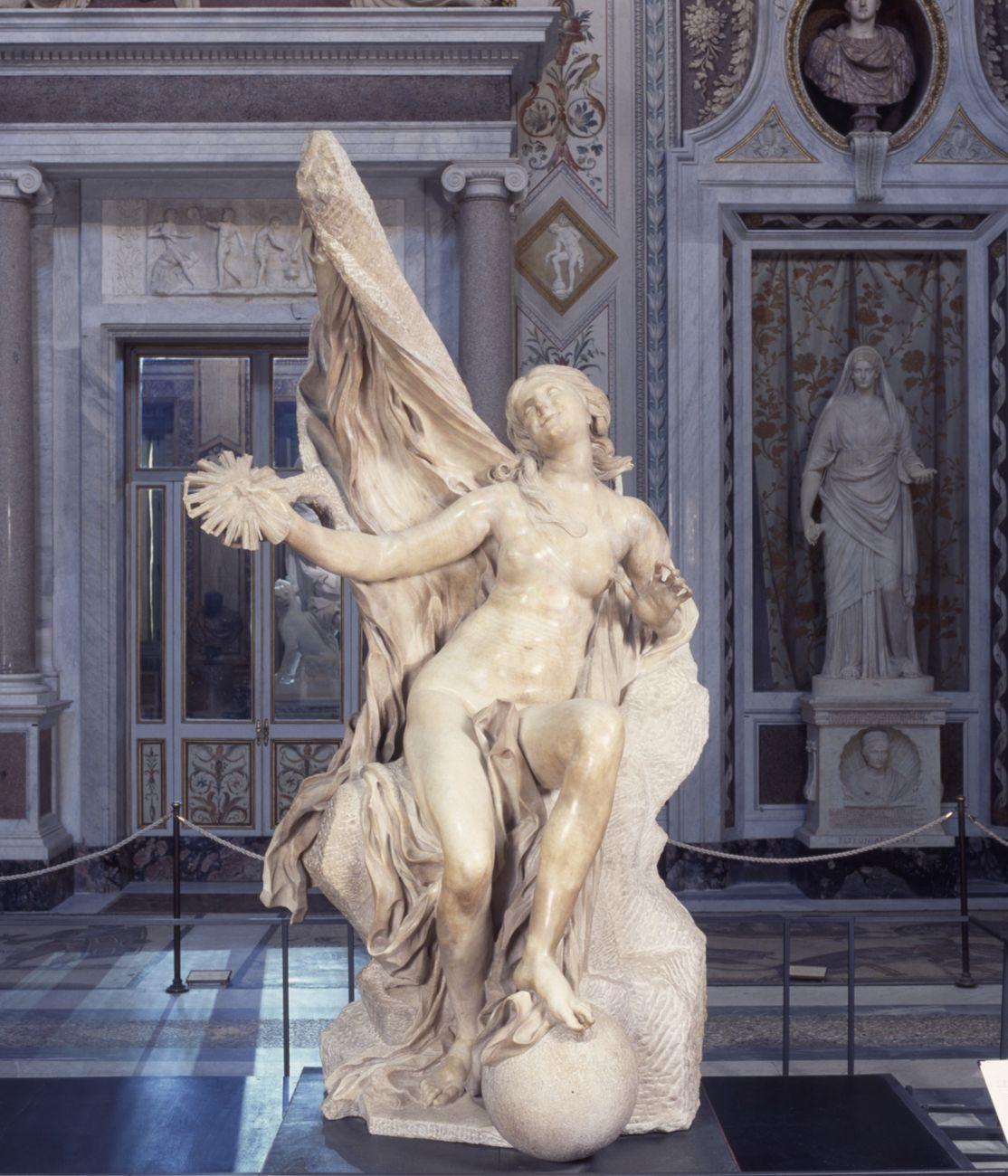 Gian Lorenzo Bernini, La Verità, 1646-52. Galleria Borghese, Roma (c) Ministero dei Beni e delle Attività Culturali e del Turismo - Galleria Borghese