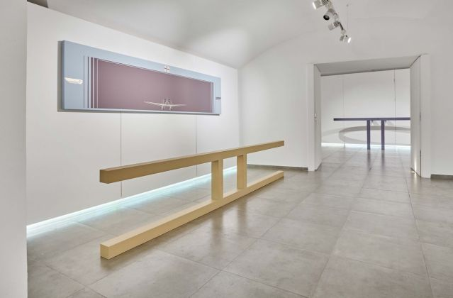 Gianni Piacentino. Works 1966-2017. Exhibition view at Galleria Mucciaccia, Roma 2017