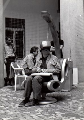 Gianni Toti. Courtesy Archivio La Casa Totiana gestione Poetronicart
