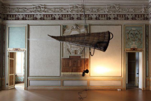 Gilberto Zorio, Barca nuragica, 2000. Castello di Rivoli Museo d'Arte Contemporanea. Photo Paolo Pellion di Persano