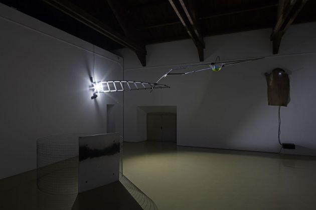 Gilberto Zorio. Installation view at Castello di Rivoli Museo d'Arte Contemporanea, 2017. Photo Antonio Maniscalco