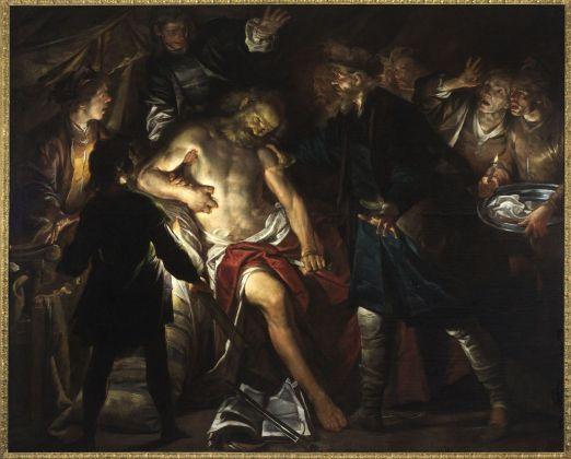 Gioacchino Assereto, La morte di Catone, 1640 ca. Genova, Musei di Strada Nuova Palazzo Bianco