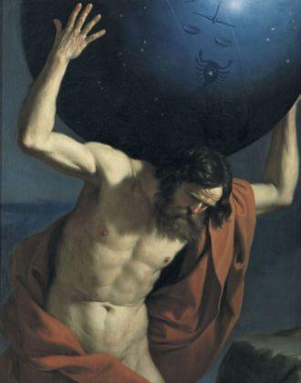 Giovanni Francesco Barbieri detto Guercino, Atlante, 1646. Firenze, Museo Bardini