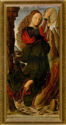 Giovanni Santi, Le muse. Erato, 1480-90 ca. Galleria Corsini, Firenze. Credits Rabatti & Domingie Photography