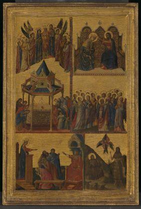 Giovanni da Rimini, Storie di Santi