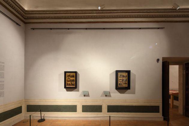 Giovanni da Rimini. Passato e presente di un'opera. Installation view at Palazzo Barberini, Roma 2017-18. Photo Alberto Novelli