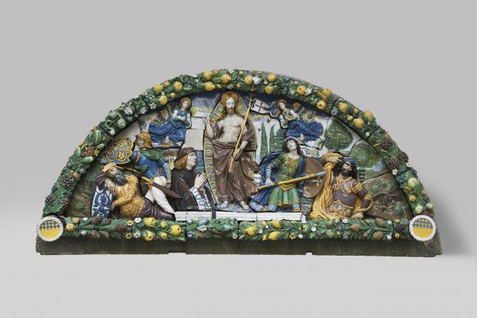 Giovanni della Robbia, Resurrezione di Cristo, 1520-25 ca. New York, Brooklyn Museum