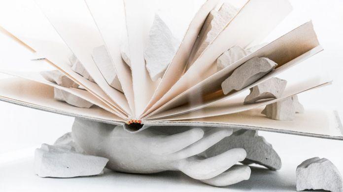 Giulio Paolini, L'arte e lo spazio. Quattro illustrazioni per uno scritto di Martin Heidegger (4), 1983. Photo Pierangelo Parimbelli