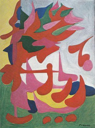 Giulio Turcato, Yma Sumac (La cantante brasiliana), 1952 ca. Collezione privata, Roma