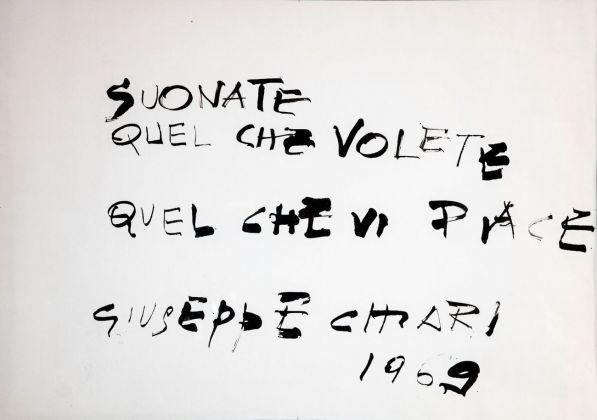Giuseppe Chiari, Suonate quel che volete, 1969