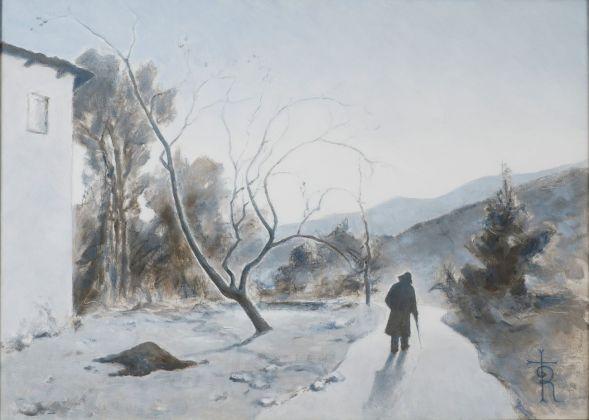 Gustavo Rol, Autoritratto, seconda metà del Novecento. Collezione privata