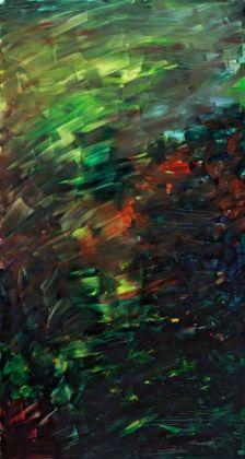 Herbert Brandl, Untitled, 2008. Photo Nicola Morittu. Courtesy Galleria Giorgio Persano