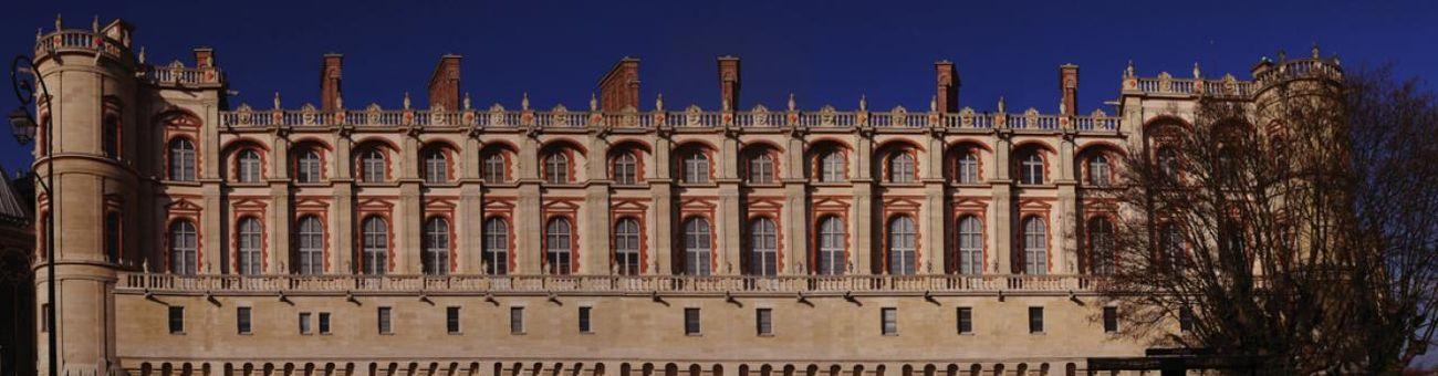 Il castello che ospita il Musée d'Archéologie Nationale, Saint-Germain-en-Laye